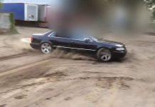 Audi A8. Nieudane kręcenie bączków. Sprawdź śmieszne wideo na FakeNews24.pl